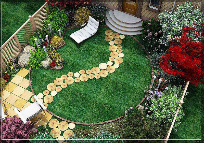 Как своими руками сделать дизайн сада