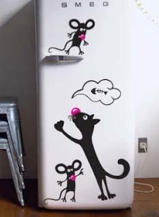 Украшаем своими руками холодильник