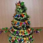 креативные елки из пролуктов