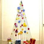 настенные креативные елки