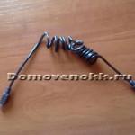 Как сделать растягивающийся шнур