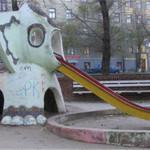 кошмарные детские площадки