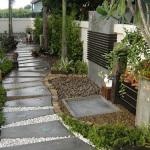 Садовые дорожки из разных материалов