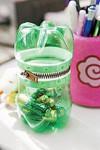 , емкость для мелочей из пластиковых бутылок