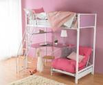 двухъярусная кровать с рабочим столом
