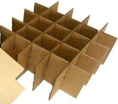Как сделать перегородки из картона в коробке