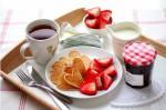 завтрак на День святого Валентина