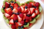 Десерт в виде сердца
