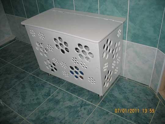 Коробка в ванну своими руками
