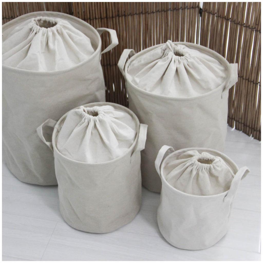 Мешок для грязного белья своими руками 26