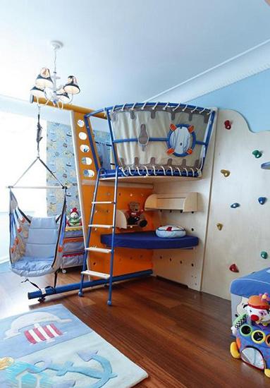 Идеи оформления детского уголка в однокомнатной квартире фото
