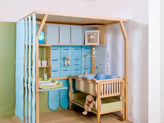 Уголок для новорождённого в квартире