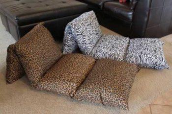 матрас из подушек для детей