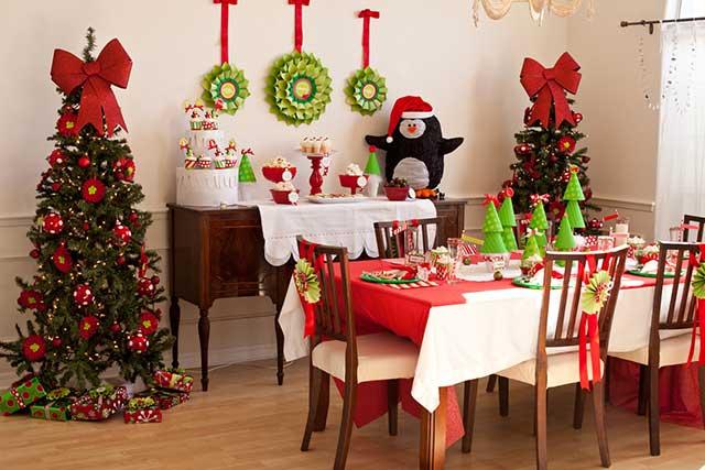 украсить комнату к Новому году