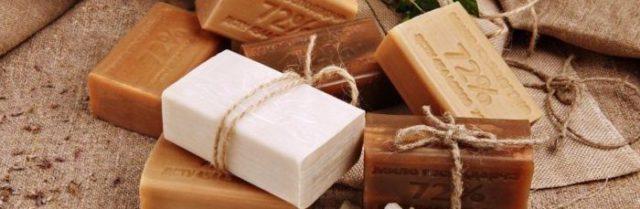 Моющие средства - мыло и вода