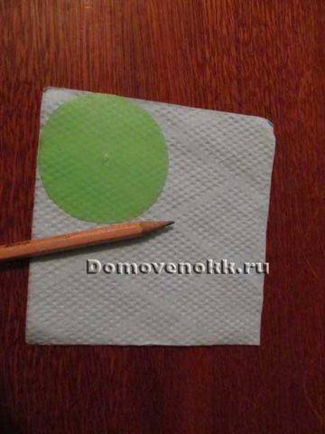 Как сделать цветочный шар из салфеток своими руками