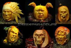 как сделать страшным Хэллоуин