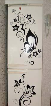 Идеи декора своими руками холодильник