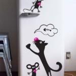 Как украсить холодильник