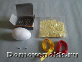украшение пасхального яйца