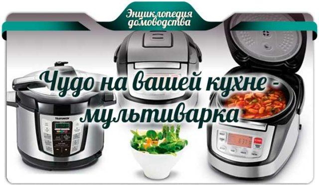 Чудо на вашей кухне - мультиварка
