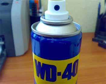 Необычное применение средства WD-40