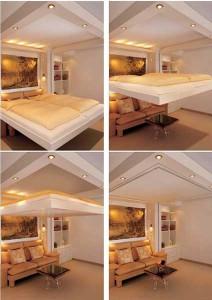 опускающаяся кровать