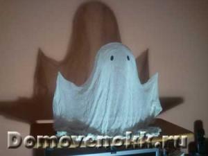приведение на Хэллоуин