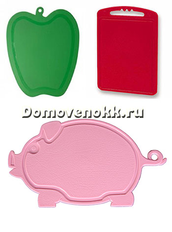 пластиковые разделочные доски