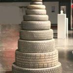 креативные елки из подручных материалов