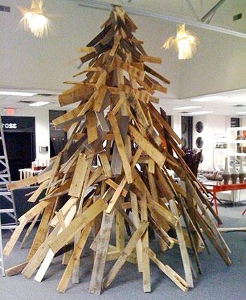 деревянная елка