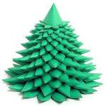 бумажные креативные елки