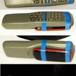 пульт ДУ+мобильный телефон