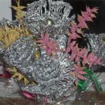 необычное применении алюминиевой фольги в домашнем хозяйстве