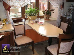 обеленный стол