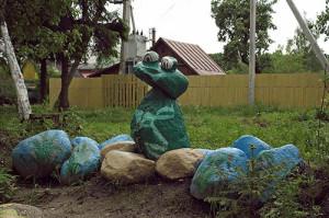 каменная детская площадка