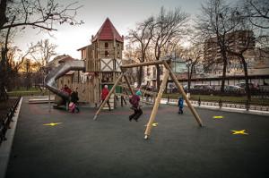площадки для детей своими руками