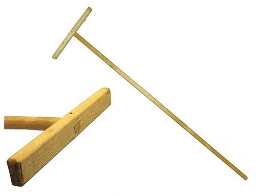 деревянная швабра