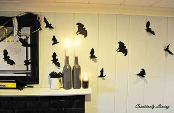 летучая мышь на Хэллоуин