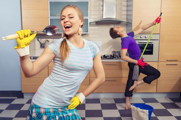 начать уборку квартиры