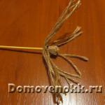 как сделать метлу для ведьмы своими руками