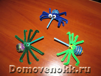 пауки своими руками