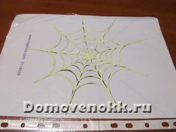 как сделать паутину