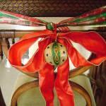 праздничный декор стульев