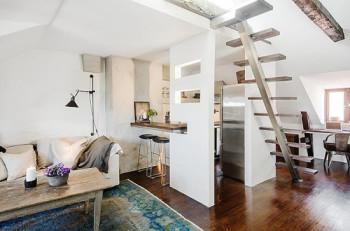 свободное пространство в маленькой квартире
