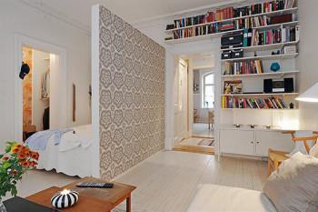 стены в маленькой квартире
