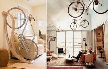 где хранить велосипед