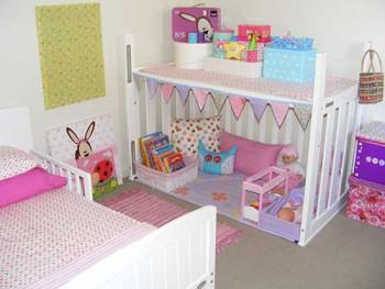Вторая жизнь детской мебели