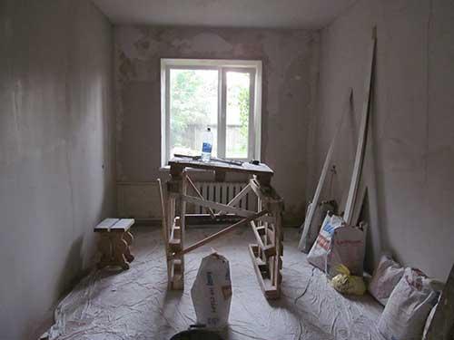 как подготовить комнату к ремонту