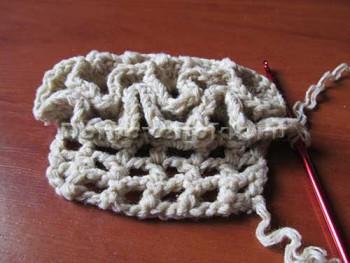вязаный моп для швабры